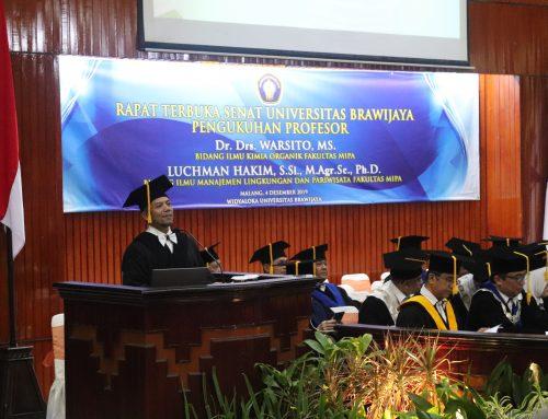 Wakil Direktur IA dikukuhkan sebagai Profesor